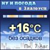 Ну и погода в Златоусте - Поминутный прогноз погоды